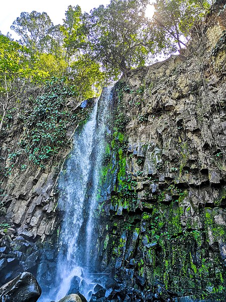 Dila Falls in Impasugong, Bukidnon<br />by Ktk8, [CC BY-SA 4.0]